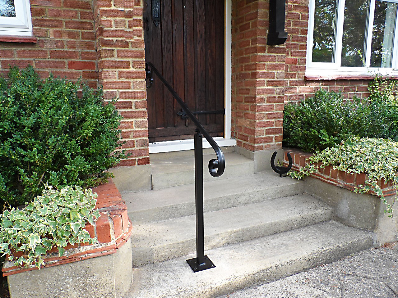 Wrought Iron Handrails Metal Handrails