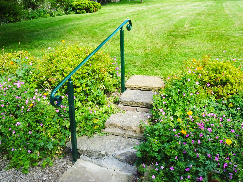Wrought Iron Handrails Metal, Outdoor Handrails For Steps Uk